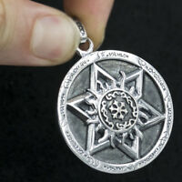 HUGE HEAVY DAVID STAR HEBREW 925 STERLING SOLID SILVER MENS WOMENS PENDANT CHARM