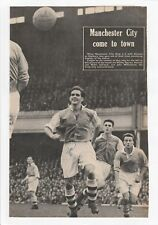 DAVE BOWEN ARSENAL 1950-1959 RARE ORIGINAL HAND SIGNED MAGAZINE CUTTING