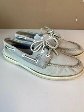 sperry top sider Mens 9 Leather Boat Shoes