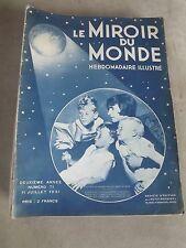 Le Miroir du monde n° 71- 11 juillet 1931 la femme de l'aviateur harold gatty