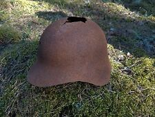 WW2 ORIGINAL SOVIET HELMET SSh-36 BATTLE DAMAGED RELIC from KURLAND