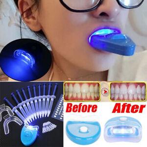 Home Teeth Whitening Kit Tooth Whitener Bleaching Laser Strong Dental Gel 10PCS