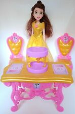 Disney Belle Princess Be Our Guest Dining Set HASBRO 2015 & Belle Doll