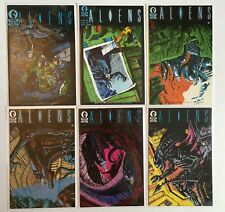 Aliens 1 - 6 1st Appearance Complete Set Dark Horse Comics 1988 Series NM/NM-