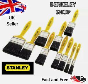"""STANLEY 10 Piece Decorators Quality Paint Brush Set,1/2"""",1"""",11/2"""",2"""",3"""",STPPYS00"""