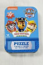 Nickolodeon Paw Patrol 24 pc Puzzle in Tin - New by Cardinal