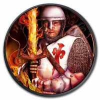 2019 Anniversary Duke Leopold V Burning Blade - Black Ruthenium 1oz Silver Coin