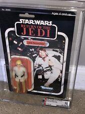 Afa 85 Kenner 1983 Star Wars Rotj Luke Skywalker Artillero 77-back-A Raro Y-Nm +
