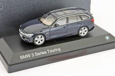 BMW 3 Series Touring (F31) Baujahr 2012 dunkelblau 1:43 Paragon Models
