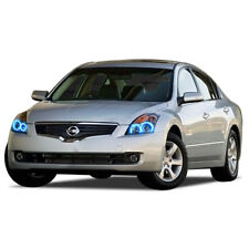 Bright Blue LED Headlight Halo Ring Kit for Nissan Altima 10-12