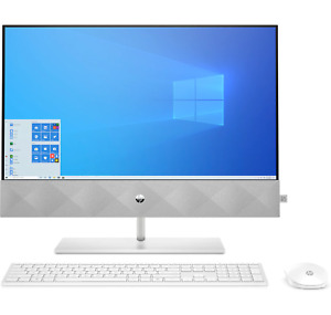 "HP Pavilion 24-k0020na 23.8"" FHD AIO Desktop PC i7-10700T 16GB 512GB 1P0C0EA #P"