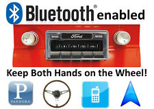 Bluetooth Enabled1964-65 Ford Falcon 300w AM FM Stereo Radio iPod, USB inputs
