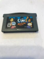 The Sims Bustin' Out AGB-ASIE-USA-1 GAME BOY ADVANCE Ships N 24h