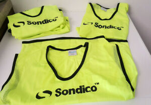 Sondico Hi Viz Mesh Trainng Bibs Youths Football Training Bibs