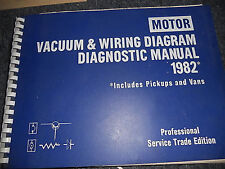1982 DODGE RAM DAKOTA RAMCHARGER TRUCKS WIRING VACUUM SCHEMATICS SHEETS SET