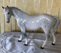 ROYAL DOULTON HORSE PONY MARE FACING LEFT MODEL  DA 46  GLOSS DAPPLE GREY GLOSS