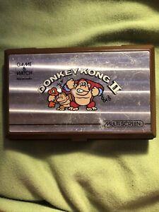 Game & Watch 1983 Vintage Nintendo Donkey Kong II (2) Multi-Screen - JR-55