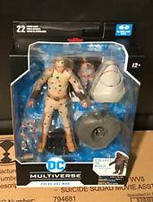 "McFarlane DC Suicide Squad  POLKA DOT MAN  7"" Action Figure  Build-A King Shark"