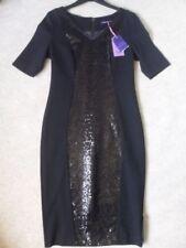 V-Neck Short Sleeve Dresses for Women with Sequins