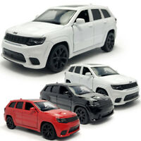 Jeep Grand Cherokee Trackhawk SUV 1:36 Model Car Diecast Toy Vehicle Pull Back
