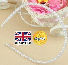 Pearl Fascia per capelli Bellissima Imitazione Fascia Per Capelli Fascia Capelli Festa Matrimonio alla moda elegante