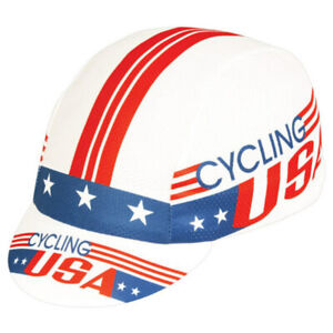 Pace Sportswear Cycling USA Coolmax cap red/white/blue- one size