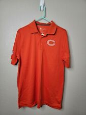 Nike Men's NFL On Field Apparel Chicago Bears Dri Fit Polo Orange Sz Medium