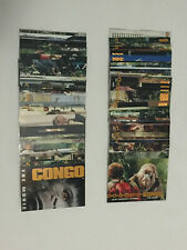 1995 Upper Deck CONGO: THE MOVIE - Complete 90 Card Set