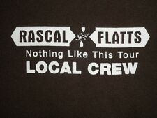 Rascal Flatts Nothing Like This Tour Local Crew shirt, size Xl