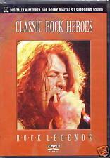 CLASSIC ROCK HEROES - ROCK LEGENDS (DVD) NEU + OVP