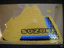 Suzuki RM250 RM400 RM 250 400 1979 Tank Decals Graphics Stickers