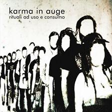 KARMA IN AUGE cd Rituali ad uso e consumo (new wave, alternative, indie) NUOVO!