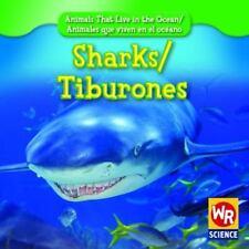 Sharks/Tiburones (Animals That Live in the Ocean/Animales Que Viven En-ExLibrary