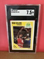 1989-90 Fleer Basketball Brad Sellers #24 SGC 7.5 NM Graded Card Sonics