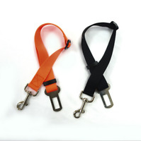 Dog Safety Seat Belt Restraint For Car Van Lock Pet Lead Travel Clip Adjustable