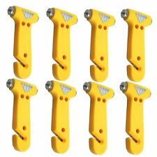 Seatbelt Cutter Window Breaker Escape Tool Emergency Car Hammer, Pack Of 8