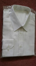 Marks and Spencer Striped Single Cuff Formal Shirts for Men