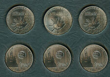 2017 Philippine 1 Peso ASEAN Commemorative Coin - 3x pcs.