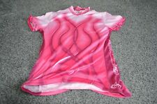 PRIMAL PINK FLAMEINGO CYCLING JERSEY WOMENS  SIZE 40