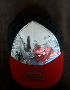Marvel Spiderman Cap 8-12 Years. In Great Used Condition. Only Worn A Few Times