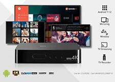 TELESystem TS UP 4K Android Smart TV Box + Tuners DVB-T2 + DVB-S2 HEVC Ultra HD