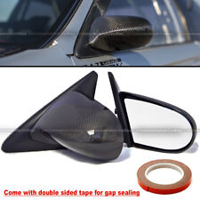 For 02-06 Acura RSX DC5 Carbon Fiber Powered Adjustable Spoon Style Side Mirror