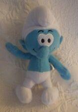 "Nanco Peyo Smurfs Smurf Plush Stuffed Animal 9"" Tall"