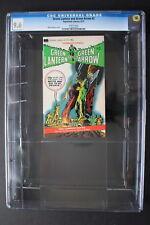 GREEN LANTERN & GREEN ARROW #2 Paperback Library 1972 NEAL ADAMS CGC NM+ 9.6
