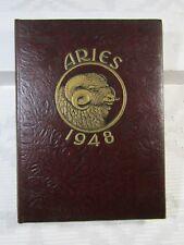 FORDHAM UNIVERSITY School Of Business Yearbook ARIES 1948
