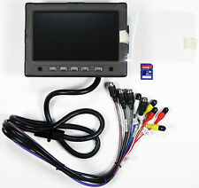 "RARE CONVOY TECHNOLOGIES JPP4X EXTREME MONITOR 7"" TFT LCD WITH BUILT IN DVR 32GB"