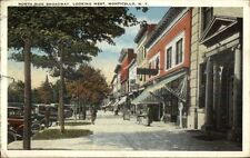 Monticello NY Broadway West c1920 Postcard