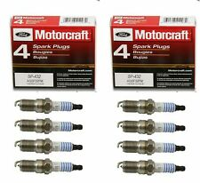 Set of 8 Motorcraft Spark Plugs SP432