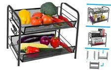 New listing Spice Rack Organizer for Countertop, 2 Tier Fruits/Vegetables Storage