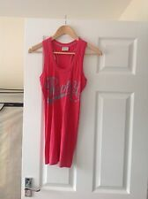 LADIES 'REPLAY PINK/ GREY VEST TOP. SIZE SMALL/ SIZE 10. GOOD CONDITION.